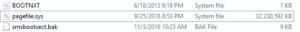 pagefile.sysが肥大化して30GB以上になっている