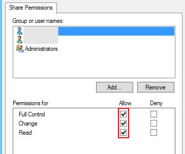 セッションホストサーバーのコンピューターオブジェクトに対して,Full Controlの権限を付与する。