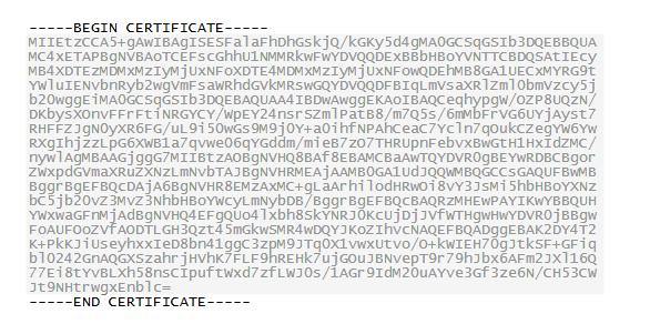 .cet形式の証明書を.pfxファイルから抽出したい